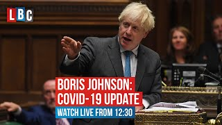 Boris Johnson's address to the Commons on coronavirus | LBC