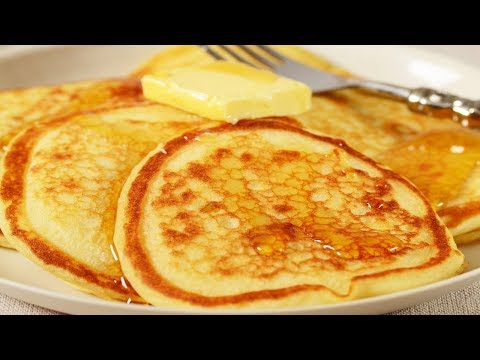 Video Buttermilk Pancakes Recipe Demonstration - Joyofbaking.com
