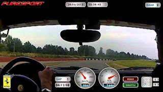 preview picture of video '29/06/2013 - Puresport Vairano Ferrari F430 Andrea'