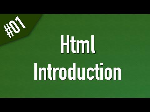 تعلم Html القائمة #1 الفديو #1