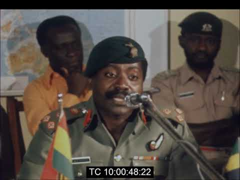 Brigadier Akuffo Reports on the Success of Ghana's Right-Hand Traffic Change Over | Oct. 1974
