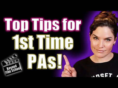 Top 5 Tips for 1st Time Production Assistants!