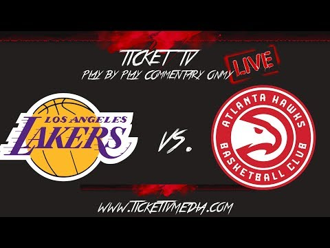 (LIVE) L.A. LAKERS VS ATLANTA HAWKS - 11/17/19 - GAME BREAKDOWN/ANALYSIS ONLY (NO VIDEO)