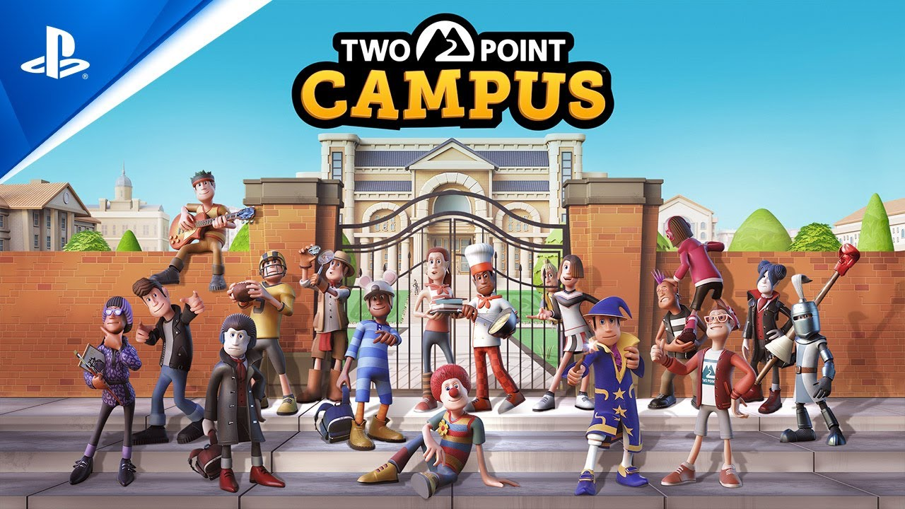Build your university your way in Two Point Campus, coming to PS4 and PS5