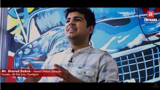 Mr Sharad Dabra, Founder, SD Fine Arts, Chandigarh| Chitkara Alumni