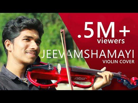 Jeevamshamayi Violin Cover   AmalSivan   Theevandi   Kailas Menon