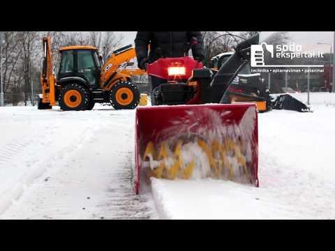 Sniego valytuvas Wolf Garten AMBITION SF 76 E
