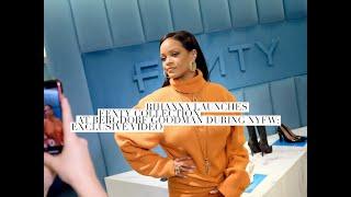 Rihanna's Fenty Launch At Bergdorf Goodman