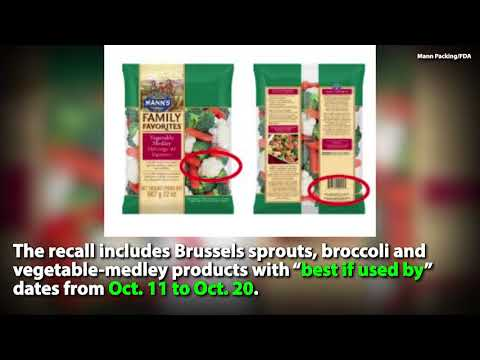 Recall: Listeria Concerns In Vegetables Sold