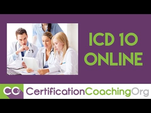 ICD-10 Online Coding Courses at CCO | August 2015 - YouTube