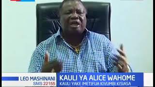 Atwoli amjibu mbuge Alice Wahome kuhusiana na matamshi ya kumkosoa rais Uhuru