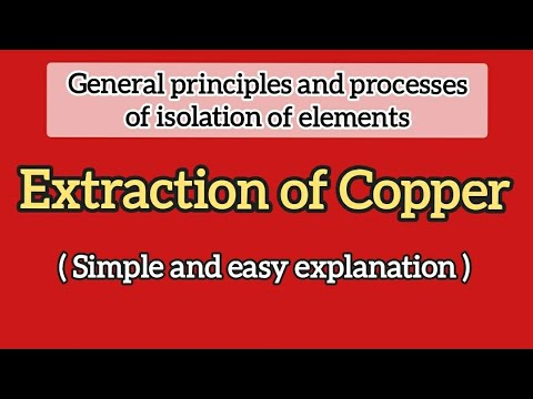 Download Extraction Of Copper Video 3GP Mp4 FLV HD Mp3 Download