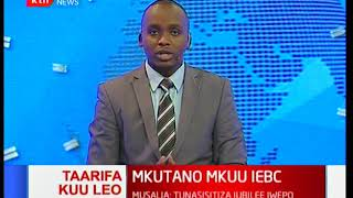 Naibu wa rais afika kuhudhuria mkutano mkuu wa IEBC