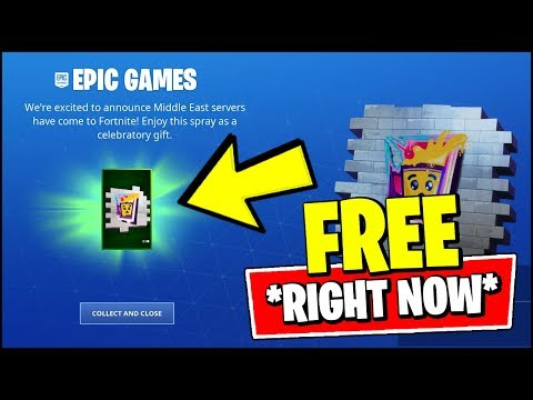 """*NEW* HOW TO GET FORTNITE """"STAY SMOOTH"""" FREE REWARDS SPRAY RIGHT NOW!"""