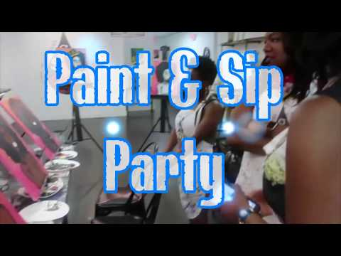 Paint & Sip At The Corner Pocket Event Center