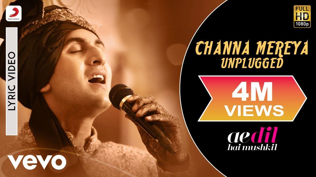 Channa Mereya - Unplugged   ADHM   Arijit Singh   Ranbir   Anushka