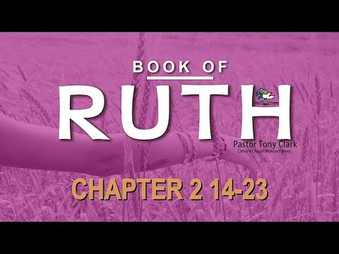 Book Of Ruth – 2:14-23