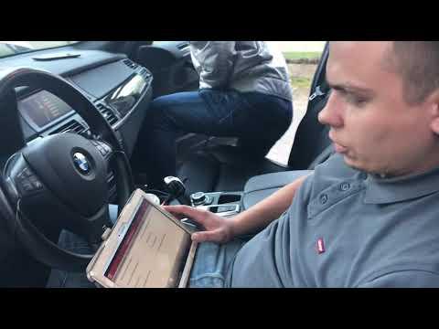 Проверка пробега БМВ Х5 в электронных блоках