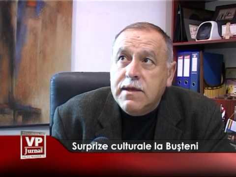 Surprize culturale la Bușteni