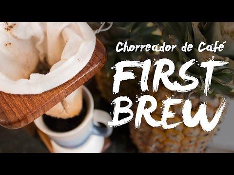 First Brew - Chorreador de Café (Costa Rican Coffee Maker)