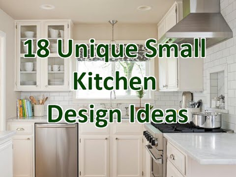 18 Unique Small Kitchen Design Ideas - DecoNatic