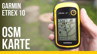 Garmin eTrex 10 Karte aufspielen | OSM Download und Installation für Einsteiger