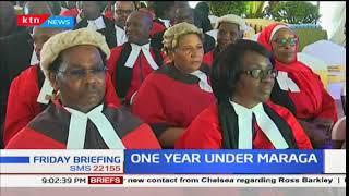 Chief Justice David Maraga tables first judicial performance report