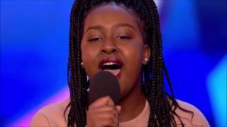 Sarah Ikumu First GOLDEN BUZZER of 2017 | Auditions 1 | Britain's Got Talent 2017