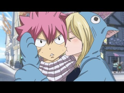 Fairy Tail Natsu & Lucy Kiss Fall 2018 ANIME! Episode 278