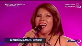 Una hembra no llora - Susan Ochoa (Los cuatro finalistas-Perú)