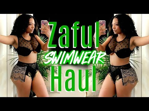 ZAFUL SWIMSUIT TRY ON HAUL & REVIEW (MOM FRIENDLY)