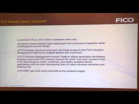 FICO Analytic Cloud: How we transitioned to SaaS from a legacy IBM/VMware application