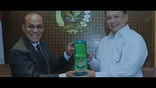 Universitas Nasional – Silaturahmi Pimpinan UNAS ke Ketua DPR RI