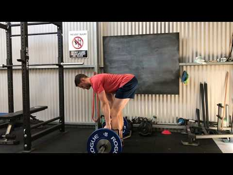 Trap Bar Straight-back Straight-leg Deadlift