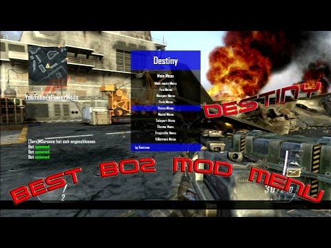 Bo2 Destiny Mod Menu (FMT) Best Bo2 Menu? + download