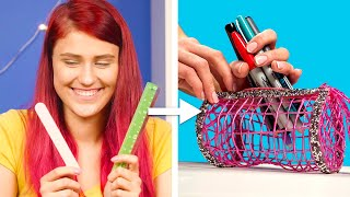 ESCUELA! IDEAS SIMPLES & COOL  | TIPS DIY & HACKS CON ÚTILES ESCOLARES