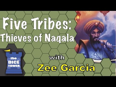 Five Tribes: The Thieves of Naqala Review - with Zee Garcia