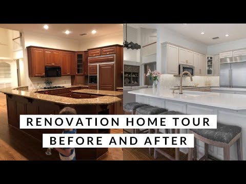 MY COASTAL HOME RENOVATION TOUR! Before and After Pictures | Ashley Salvatori