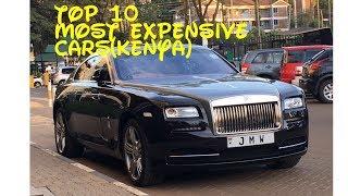 TOP 10 MOST EXPENSIVE CARS (KENYA)   Kholo.pk