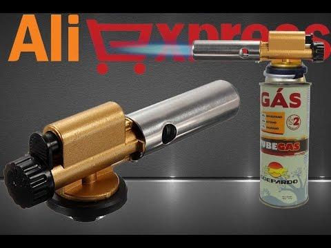 Газовая горелка в металлическом корпусе из Китая (aliexpress)