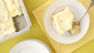 Vanilla Sheet Cake – Everyday Food with Sarah Carey