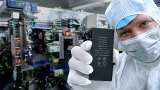 Inside an iPhone Battery Factory - in China
