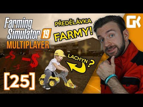 PŘEDĚLÁVKA FARMY! | Farming Simulator 19 Multiplayer #25