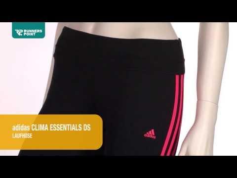 Laufhose adidas Clima Essentials 3S Damen 3/4