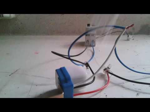 montaggio interruttore  crepuscolare ( impianto elettrico + spiegazione ) fai-da-te