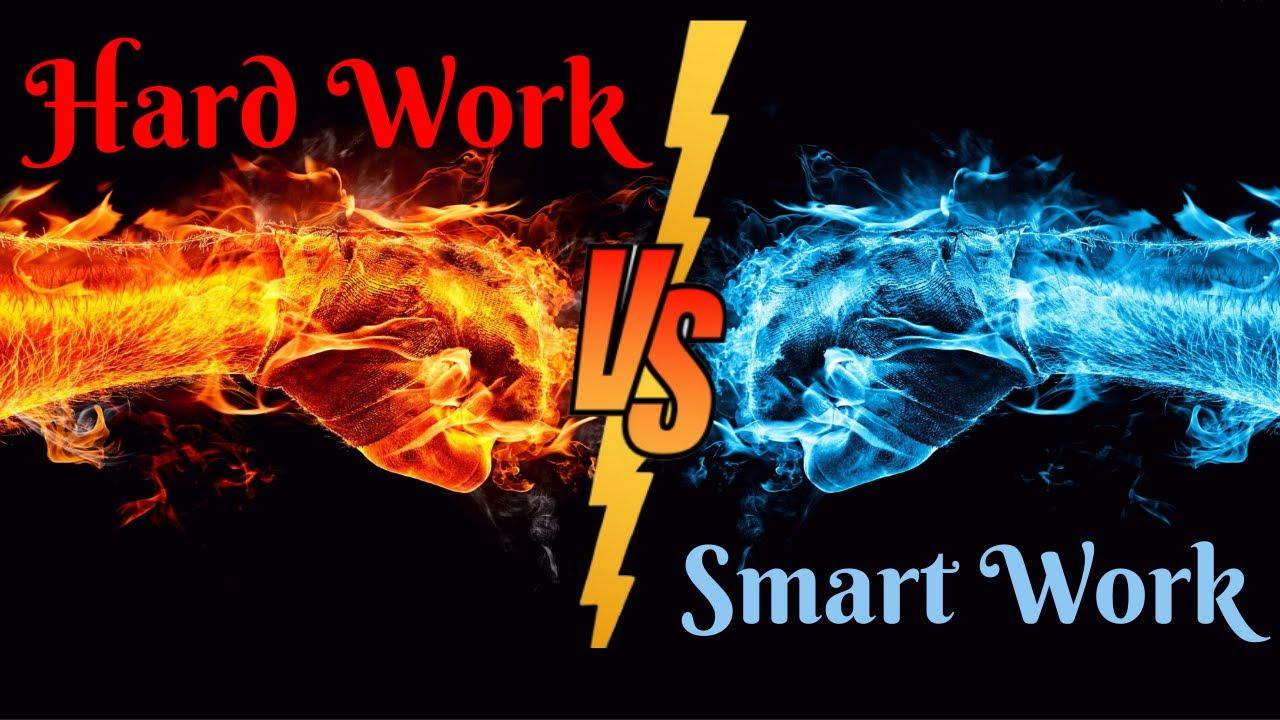 Hard Work vs Smart work | MahaNMK| कठोर मेहनत कि योग्य दिशेने मेहनत ?