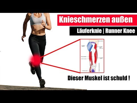 Knieschmerzen außen, Läuferknie | Die 3 besten Übungen für Läufer