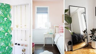 "10 Small Bedroom Renovation & Makeover Ideas That Will Make It ""Looks"" Bigger"