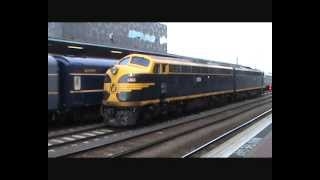 Australian Trains: Passenger trains at Southern Cross Station. 9th March 2013