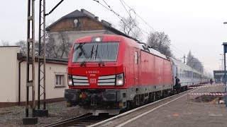 preview picture of video 'Siemens Vectron, PKP Intercity, DB Schenker Rail Polska'